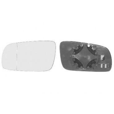 Miroir de rétroviseur gauche plat blanc Volkswagen Golf 4