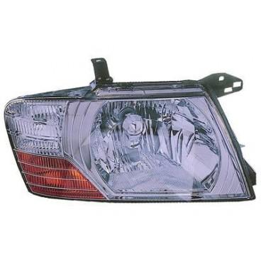 Phare avant Droit Mitsubishi Pajero ( Interieur Chromé )