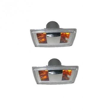 2 Repetiteurs Clignotant Opel Astra H 2006-2010 Noir