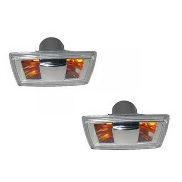 2 Repetiteurs Clignotant Opel Zafira 2005-2008 Gris