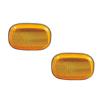 2 Repetiteurs Clignotant orange Toyota Rav4 XA 06/2000-06/2003