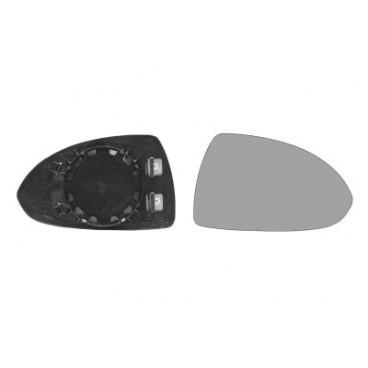 Glace rétroviseur droit Corsa D 2006-2015 (chauffante / dégivrante)