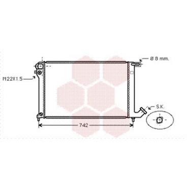 radiateur moteur citroen berlingo radiateur moteur citroen berlingo 1 8 1 9 diesel de. Black Bedroom Furniture Sets. Home Design Ideas