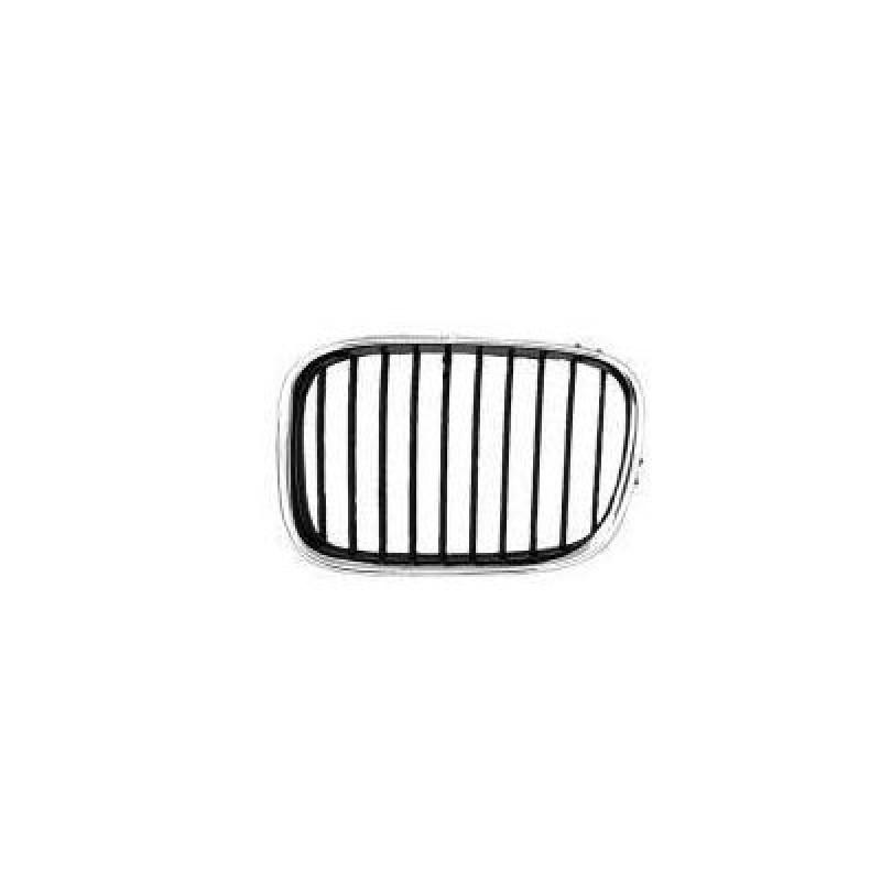 Grille calandre gauche BMW Série 5 E39 Phase 2 (chromee)