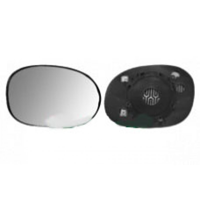 Miroir retroviseur droit peugeot 206 et 206 chrom for Retroviseur exterieur peugeot 206