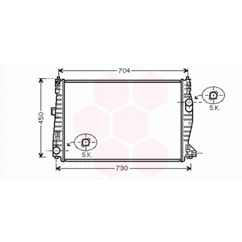 radiateur moteur alfa romeo 159