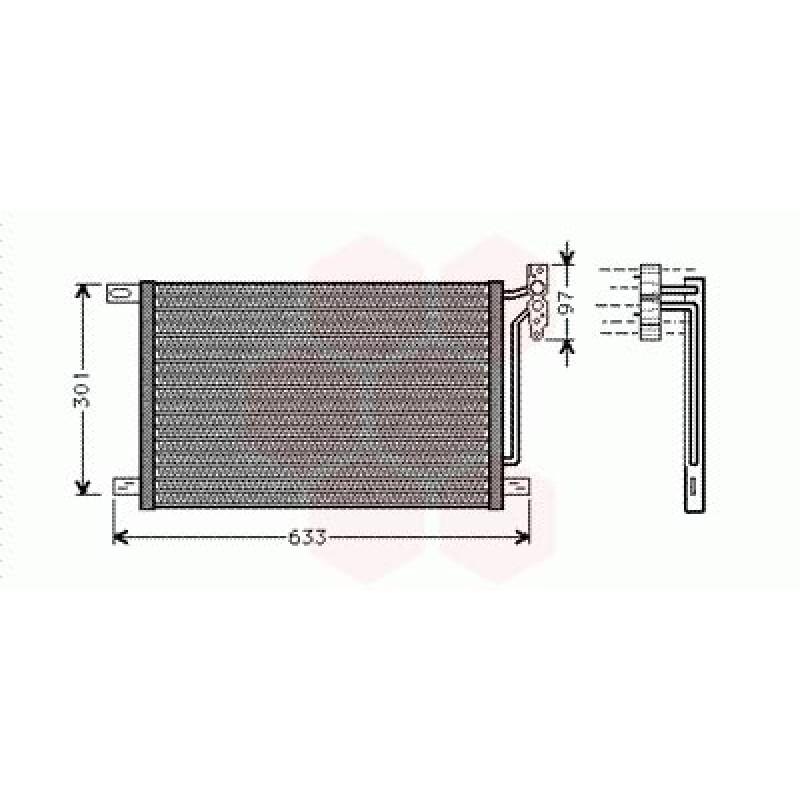 Condenseur / Radiateur de Clim BMW X3 ( Diesel )