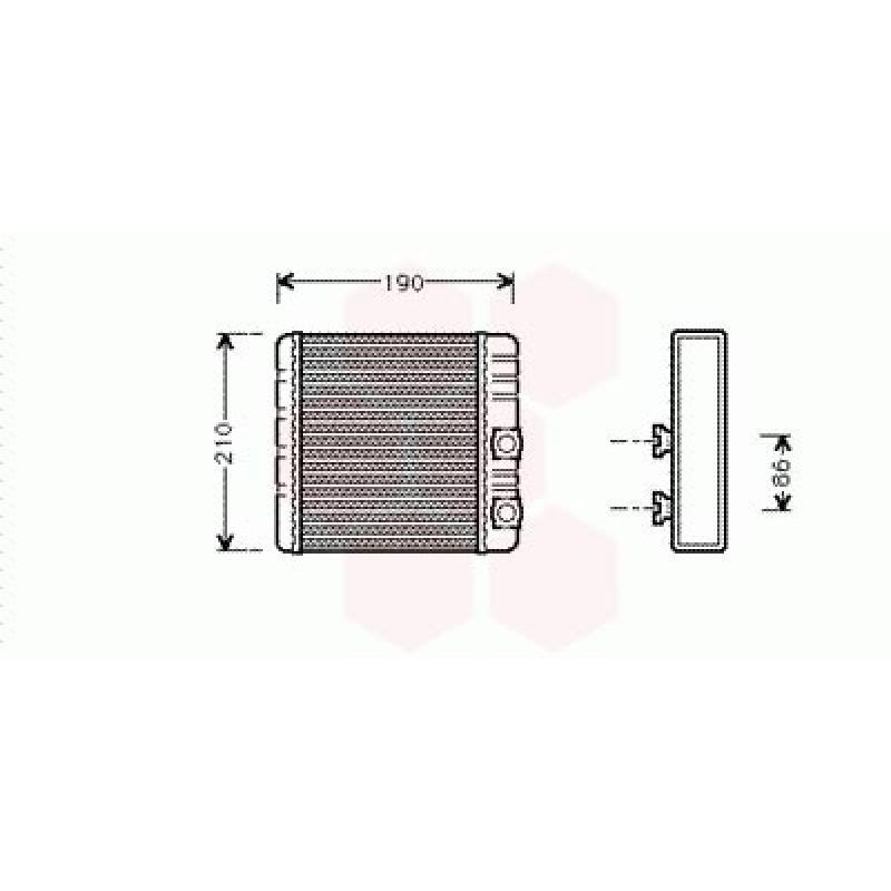 Radiateur Chauffage BMW X3 (Pièce Auto)