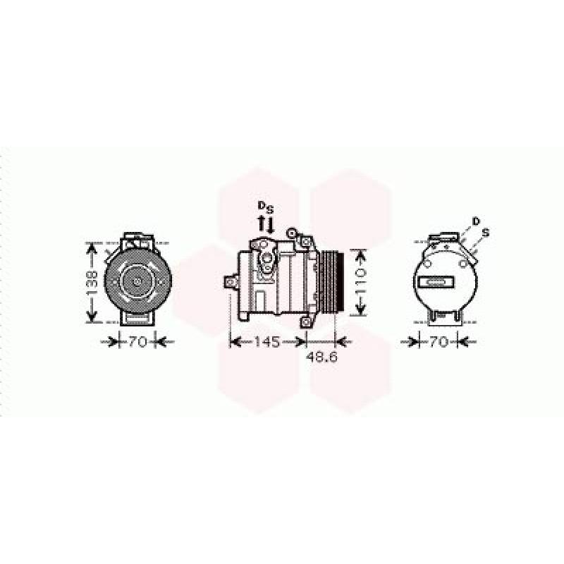 Compresseur de Climatisation BMW X5 ( 3.0i )
