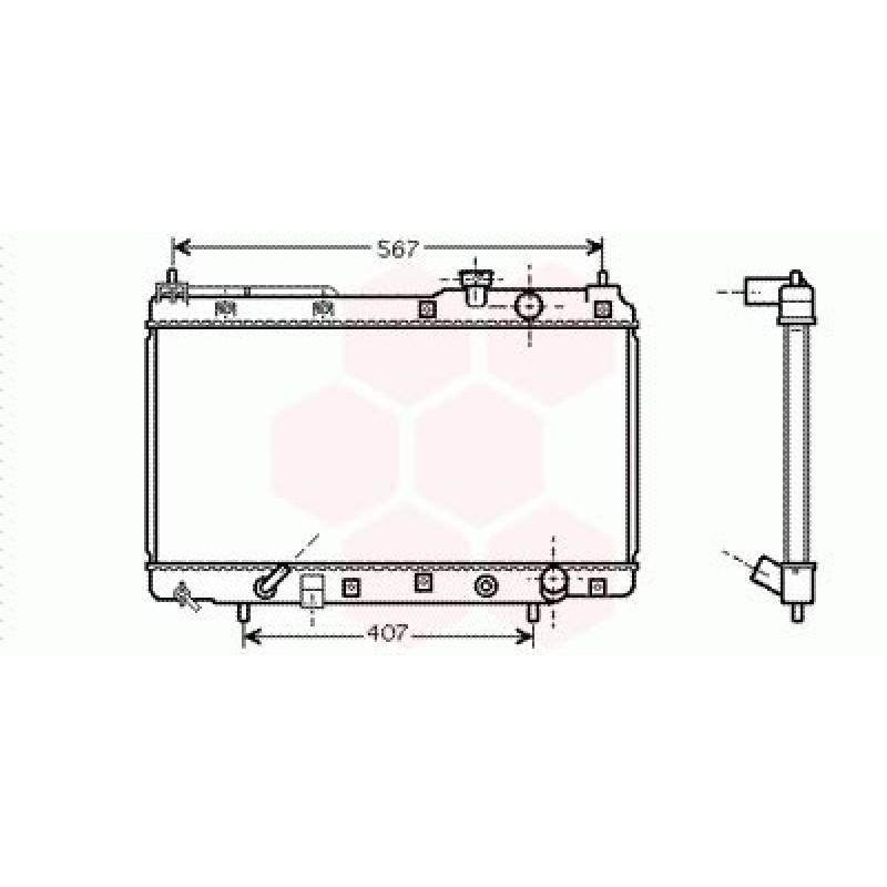 Radiateur Moteur Honda CRV ( 2.0 / Auto)