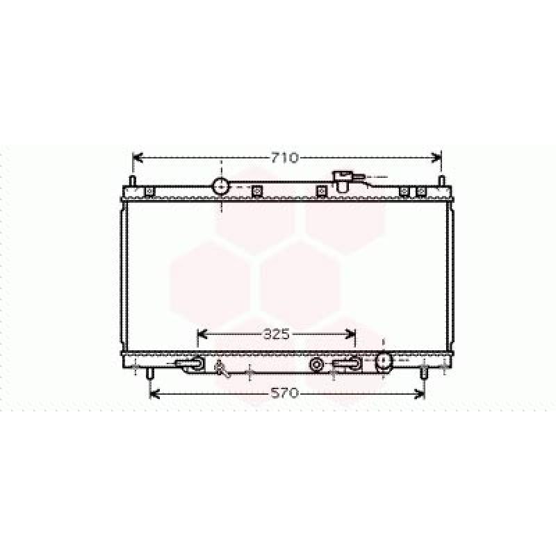Radiateur Moteur Honda CRV ( 2.0 / Automatique )