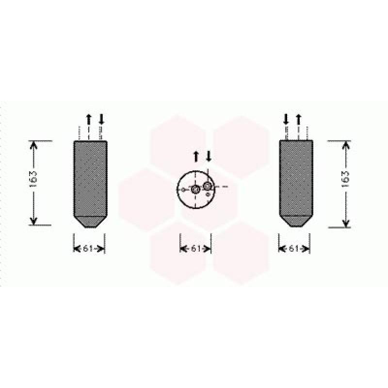 Bouteille Deshydratante Mercedes M ( ML 230 à ML 430 )