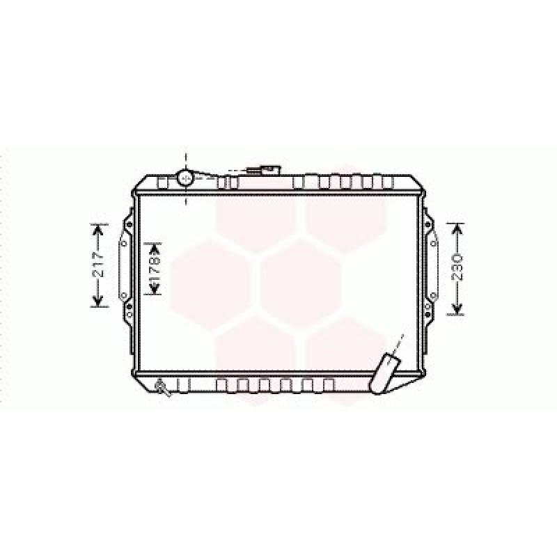 Radiateur Moteur Mitsubishi Pajero ( 3.0 )