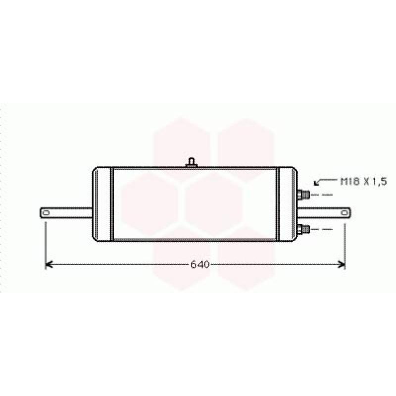 Radiateur Huile Opel Frontera ( 2.4/2.3TD)