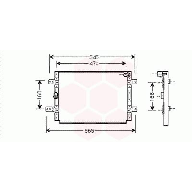Condenseur / Radiateur de Clim Suzuki Vitara (2 Portes)