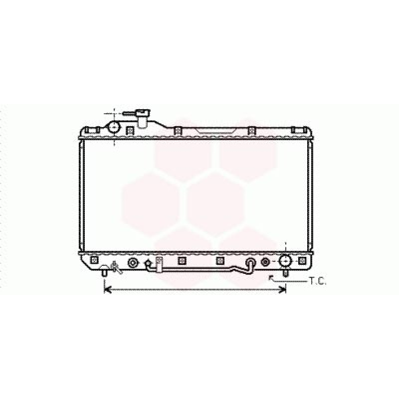 Radiateur Moteur Toyota Rav4 SXA1 ( 2.0 / Automatique )