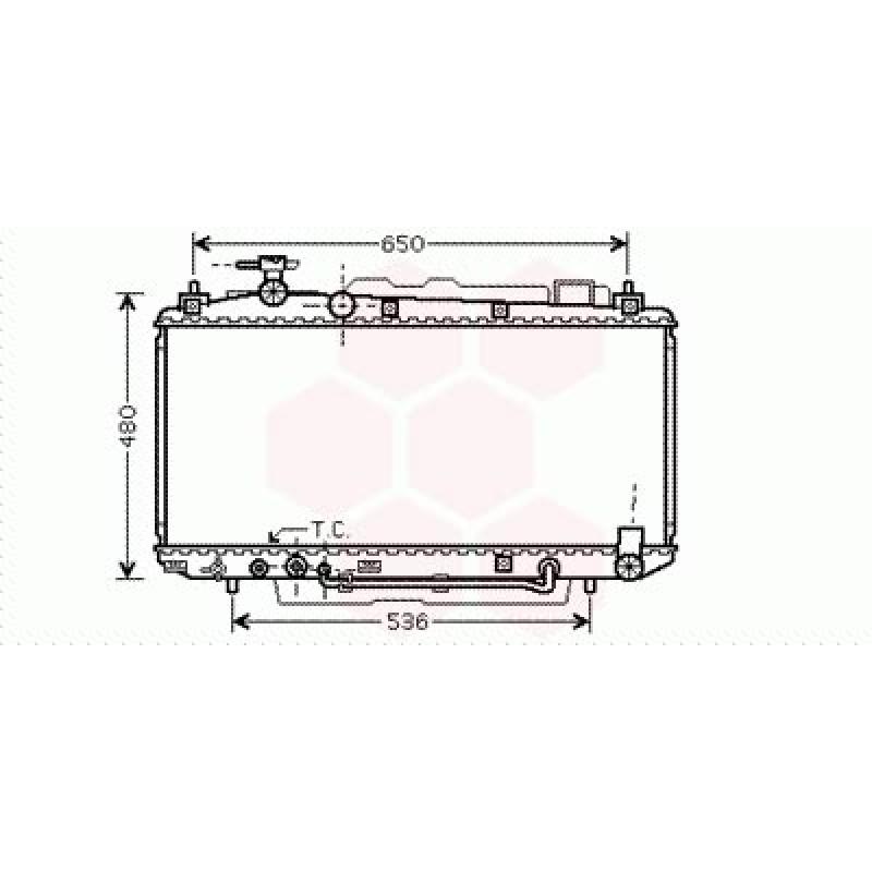 Radiateur Moteur Toyota Rav4 XA2 ( 2.0 / Automatique )