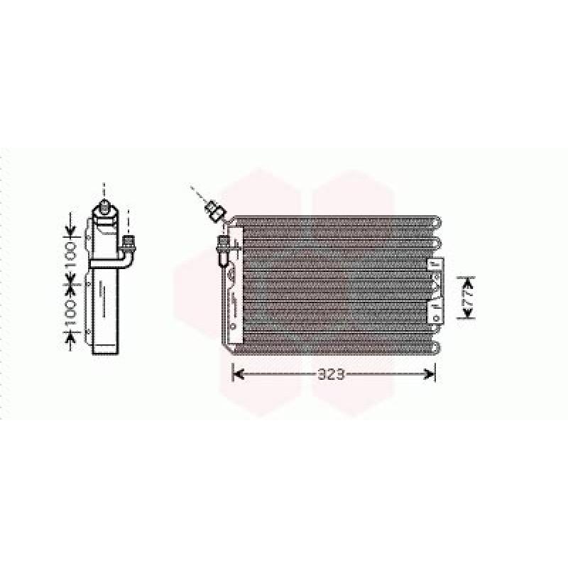 Condenseur / Radiateur de Clim Porsche 911