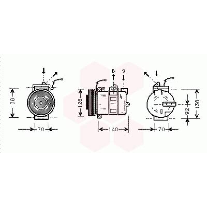 Compresseur de Climatisation Porsche Boxster