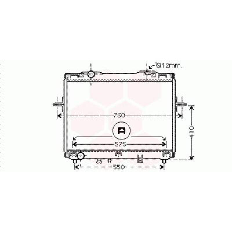 Radiateur Moteur Kia Sorento ( 2.4 i 16V / 3.5 i 24V - RHD )