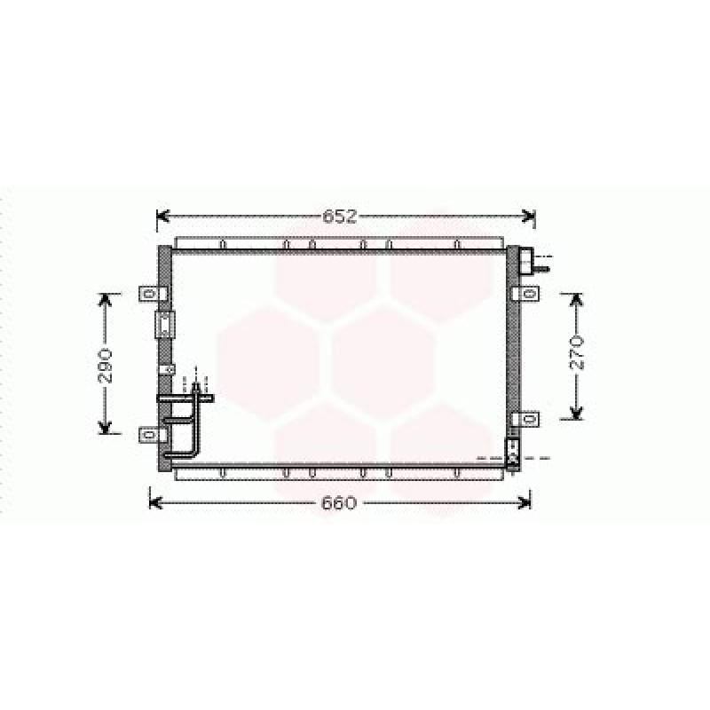 Condenseur / Radiateur de Clim Kia Sorento