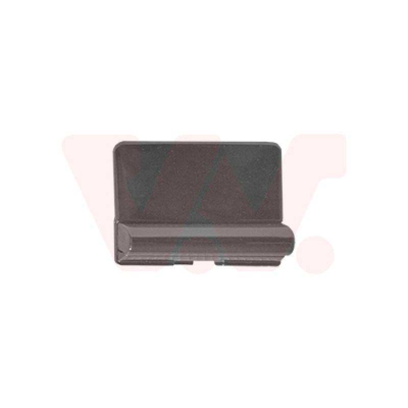 Couvercle pour crochet de remorquage avant Ford Kuga 2013-2016 (phase 1 / pièce de carrosserie de couleur noir brillant)