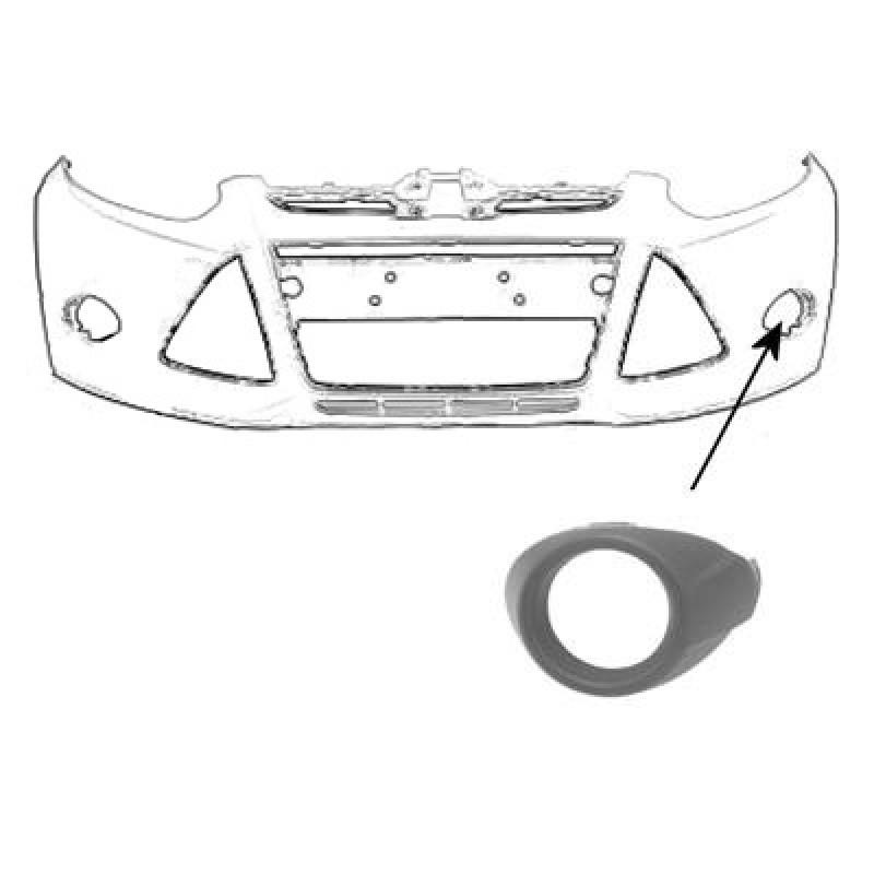 Enjoliveur Ford Focus : enjoliveur antibrouillard gauche ford focus 2011 2014 ~ Voncanada.com Idées de Décoration