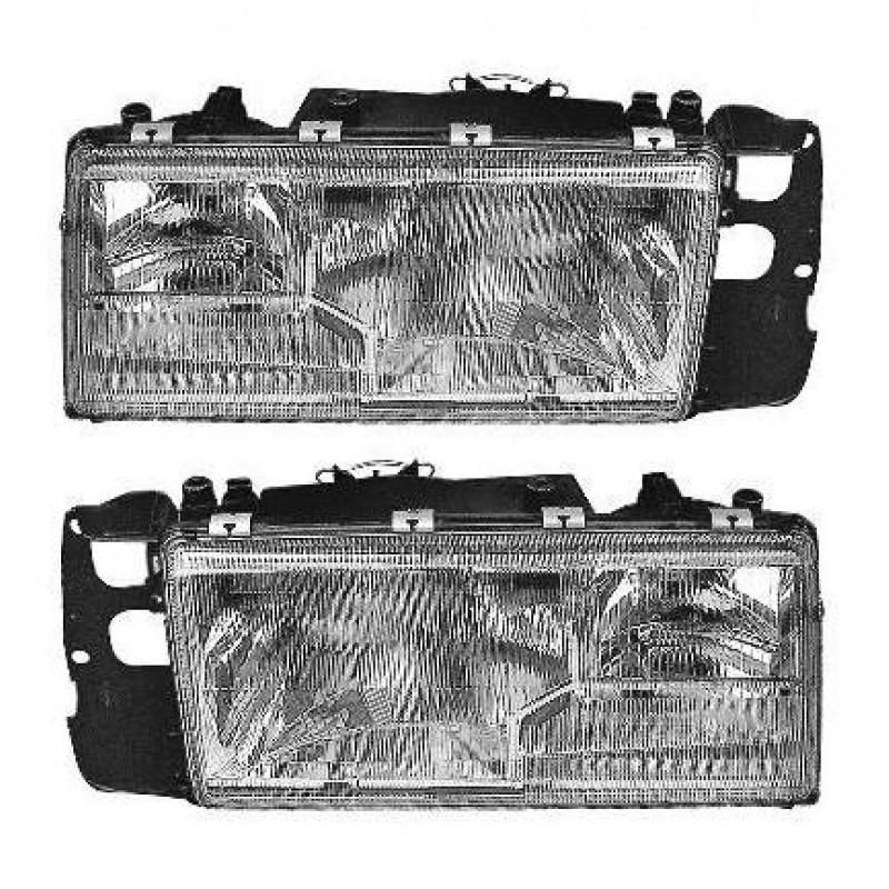 2 phares avant Volvo (H4+H1+H1) 940 / 960