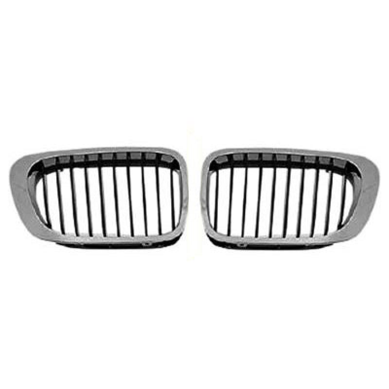 grilles calandre bmw s rie 3 e46 coup de 1999 2003 calandre bmw e46 cabriolet. Black Bedroom Furniture Sets. Home Design Ideas