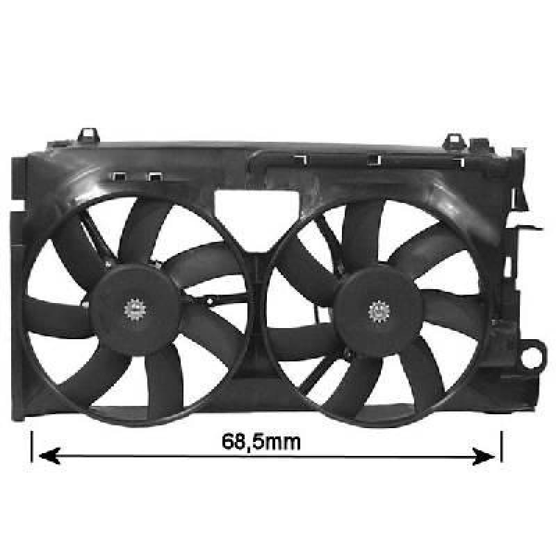 Ventilateur Electrique de radiateur Peugeot 306