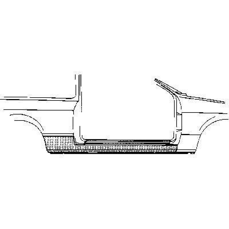 Bas de caisse Droit Honda Civic ( 2 portes )