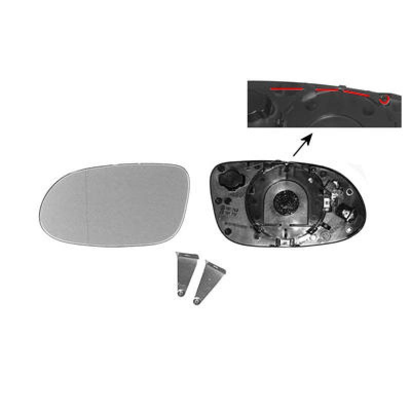 Miroir retroviseur gauche mercedes w168 glace de for Miroir de retroviseur