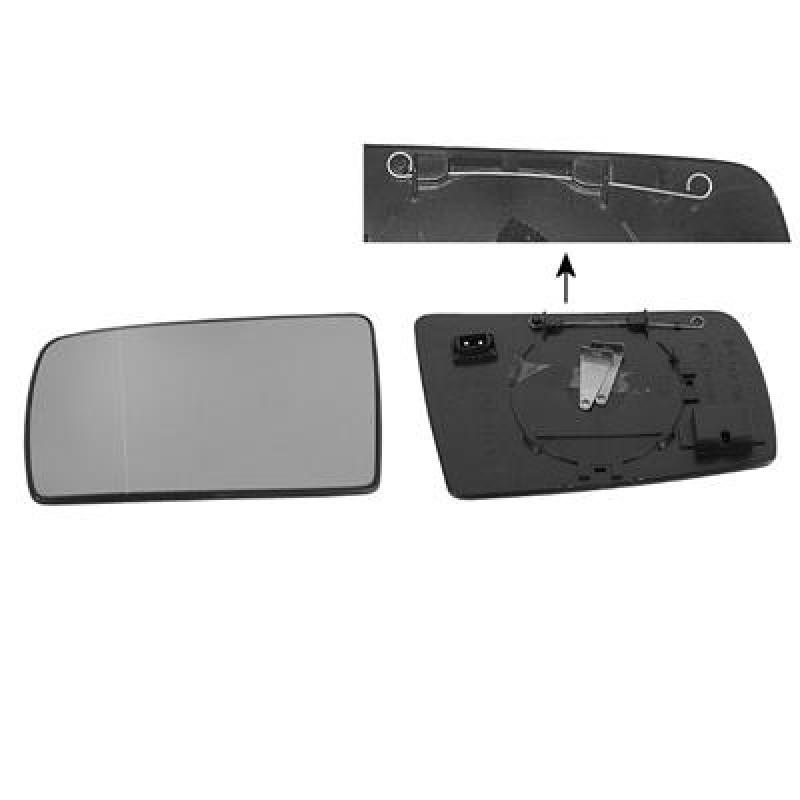 miroir de rétroviseur gauche mercedes S w140