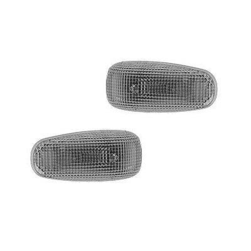2 Repetiteurs clignotants latéraux blancs Mercedes W124 (3) / W210 (1) blanc