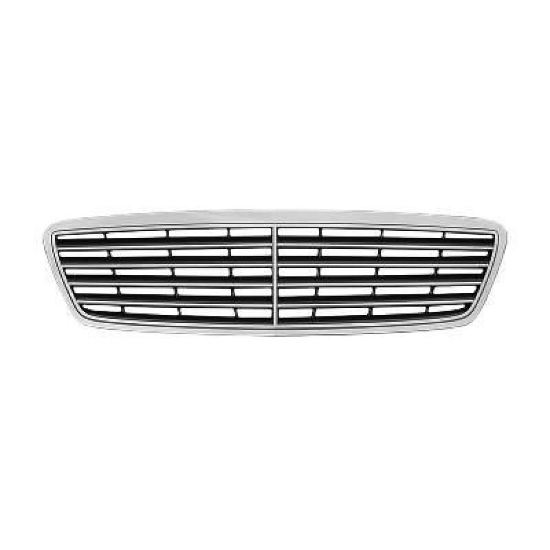 Grille de calandre Mercedes Classe C W203 Elegance / Avantgarde 2000-2004 (avec grille de couleur noire)
