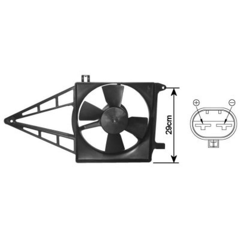 Ventilateur Radiateur Electrique Opel Astra F
