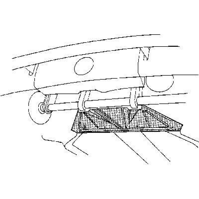Chassis Avant / plancher Volkswagen Coccinelle