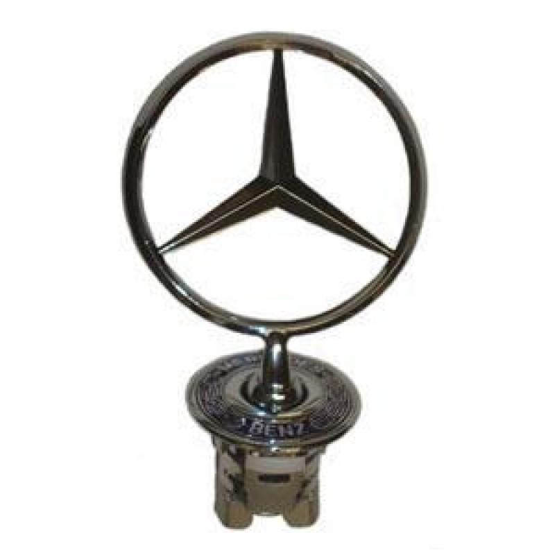 Insigne étoile Mercedes W124 S W140 W220 C W202 W203 E W210 (couronne bleue)