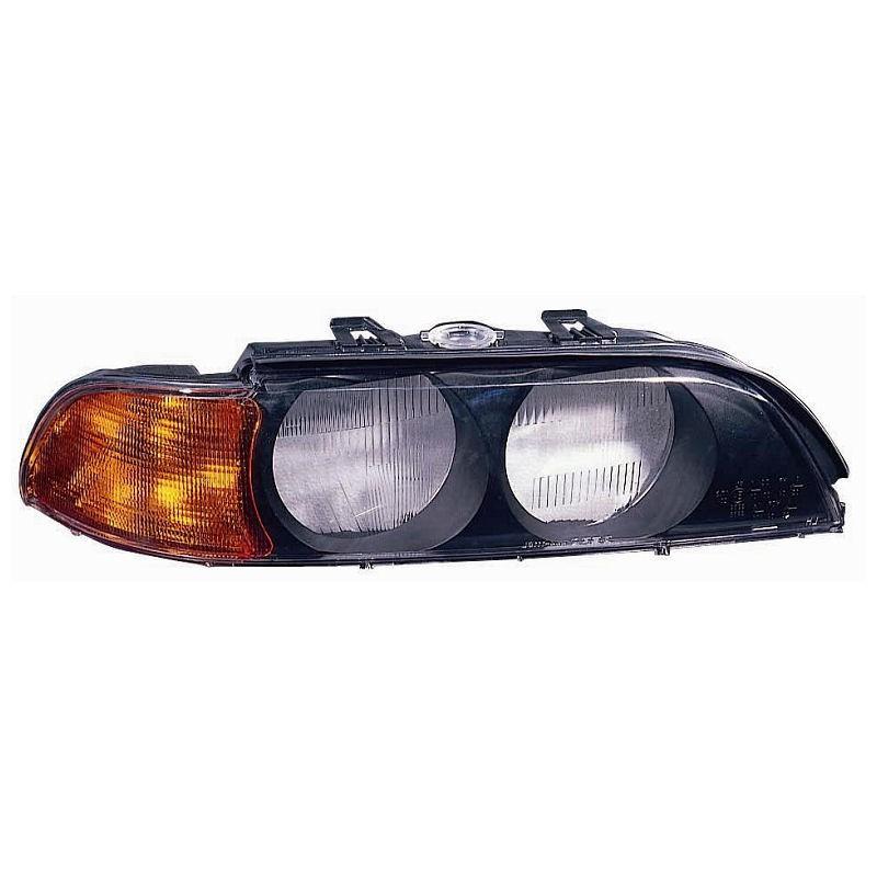Verre de phare droit BMW Série 5 E39 Phase 1
