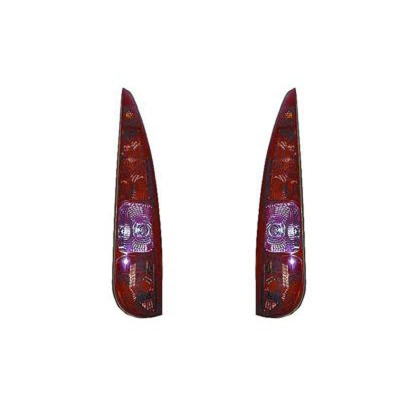 2 verres de feux arrière Citroen C8 2002-2007 (phase 1 / pièces de marque)