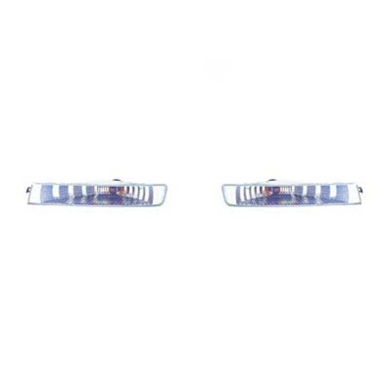 2 Clignotants avant Opel Vivaro 2001-2006 (blanc)
