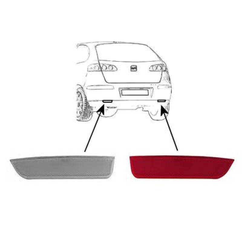 Catadioptre Arriere Droit Seat Ibiza 06/2002 a 03/2006