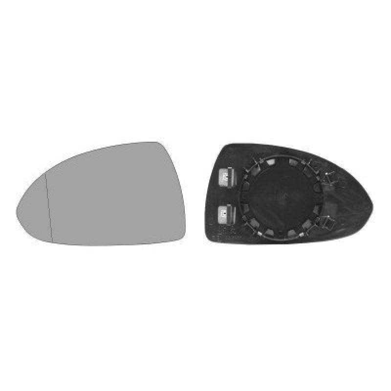 Glace rétroviseur gauche Corsa D 2006-2015 (chauffante / dégivrante)