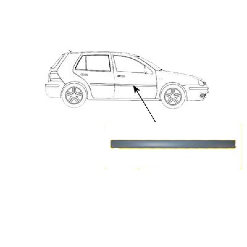 Moulure de porte avant droite Volkswagen Golf 4 (11/1997 à 2003 )