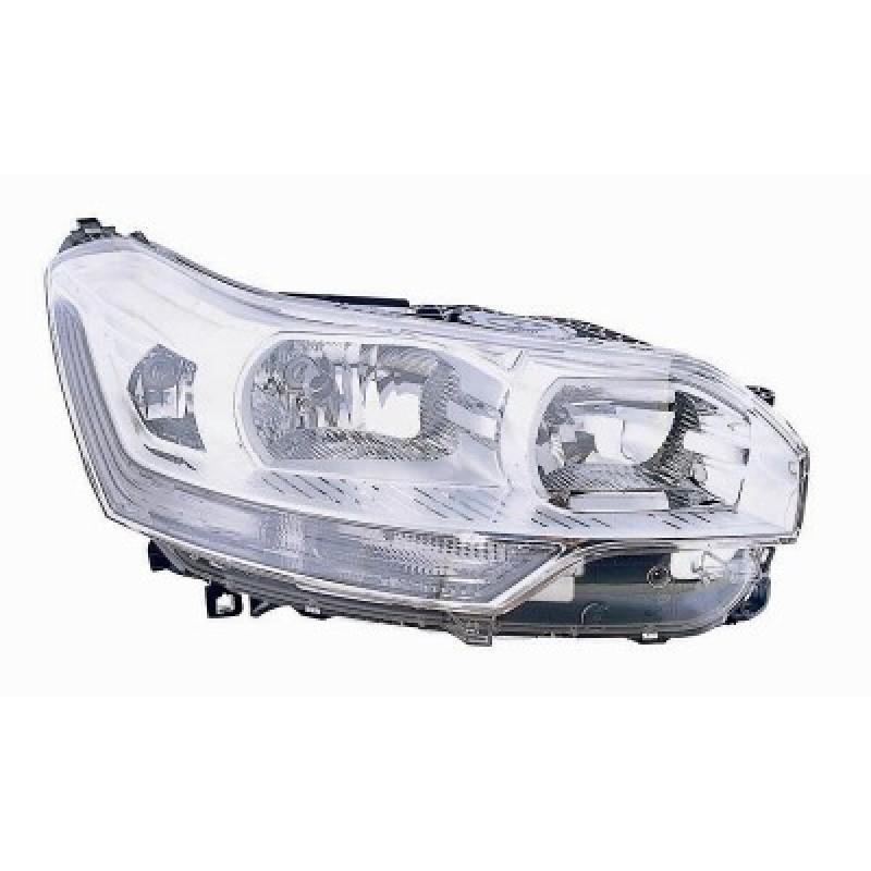 Optique de phare avant droit Citroen C5 2008-2010 (marque Valeo)