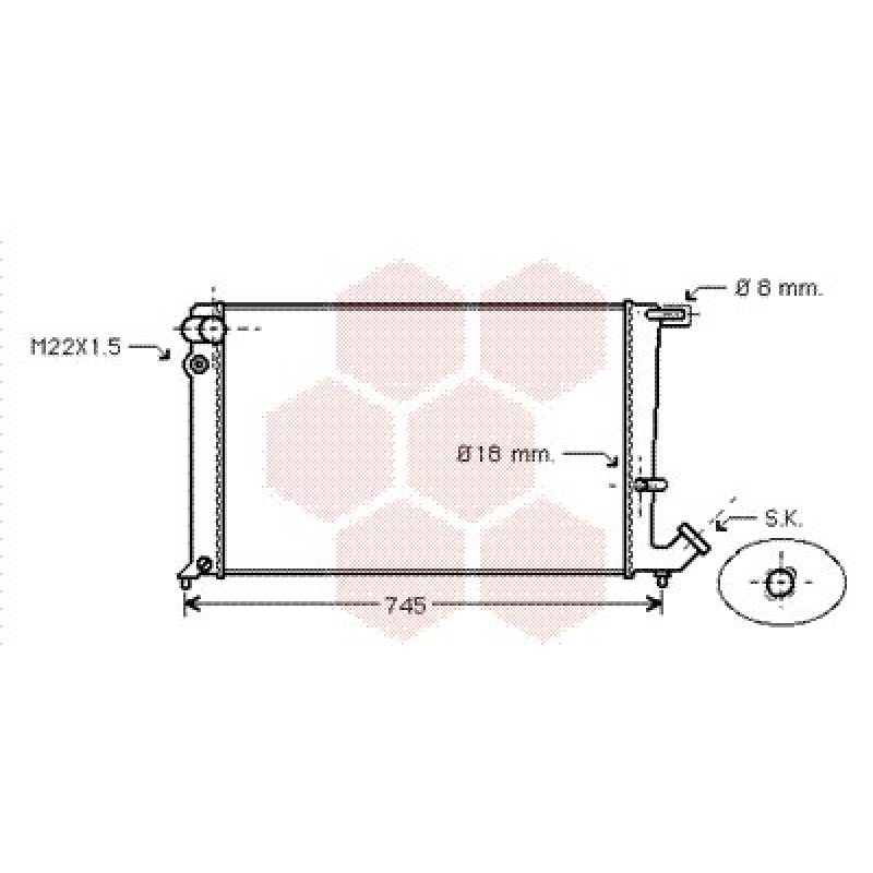 radiateur moteur peugeot 306 radiateur eau moteur peugeot 306 1 9 turbo diesel et 1 9 diesel. Black Bedroom Furniture Sets. Home Design Ideas