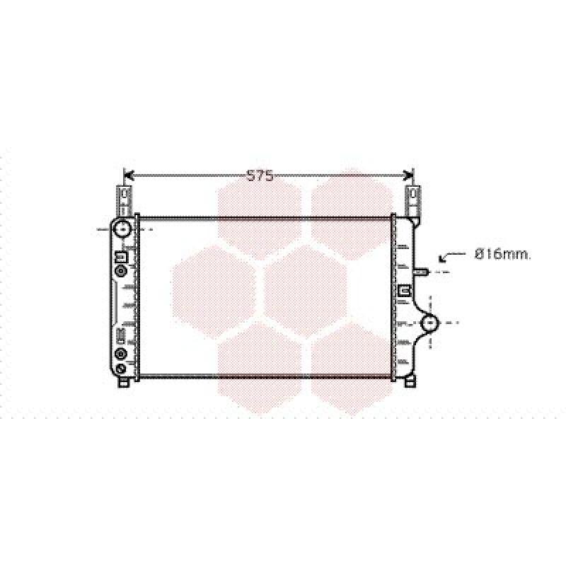 radiateur ford fiesta radiateur ford fiesta essence 1. Black Bedroom Furniture Sets. Home Design Ideas