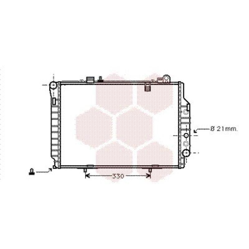 radiateur moteur mercedes classe c w202 radiateur moteur mercedes classe c w202 2 5 td 250. Black Bedroom Furniture Sets. Home Design Ideas