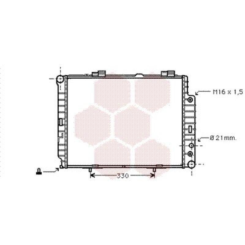 radiateur moteur mercedes classe e w210 radiateur moteur mercedes classe e w210 2 0 kompressor. Black Bedroom Furniture Sets. Home Design Ideas
