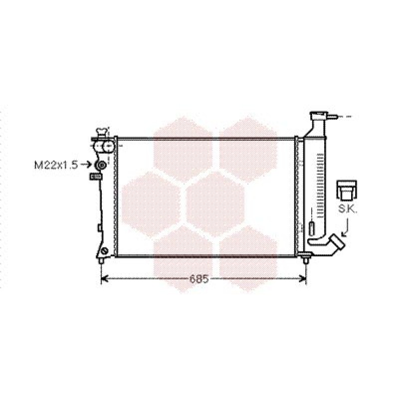 radiateur moteur peugeot 306 radiateur eau moteur peugeot 306 1 8 diesel 1 9 diesel de. Black Bedroom Furniture Sets. Home Design Ideas